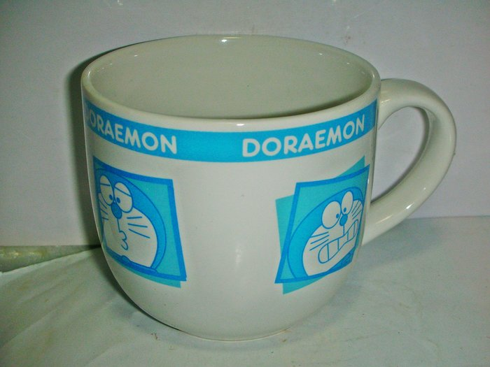 aaL皮1商旋.(特色馬克杯)全新四種不同哆啦A夢(Doraemon)造型陶瓷馬克杯!/6廳大箱/-P