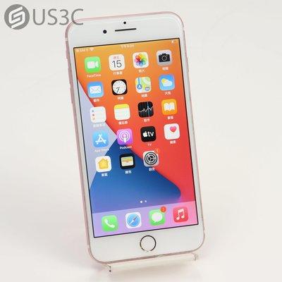 【US3C-南港店】【一元起標】公司貨 Apple iPhone 7 Plus i7+ 128G 5.5吋 玫瑰金 智慧型手機 二手手機 指紋辨識