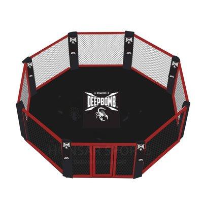 [古川小夫]DEEPBOMB戰隊認證比賽訓練擂台UFC經典頂級專業MMA賽事場地 專業健身房必備~六米x六米八角格鬥擂台