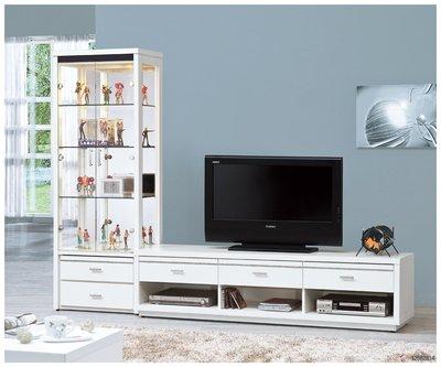 【南洋風休閒傢俱】精選時尚長櫃系列-櫥櫃 電視櫃 音響櫃 收納櫃 -米堤白色6尺電視櫃  CY272-867
