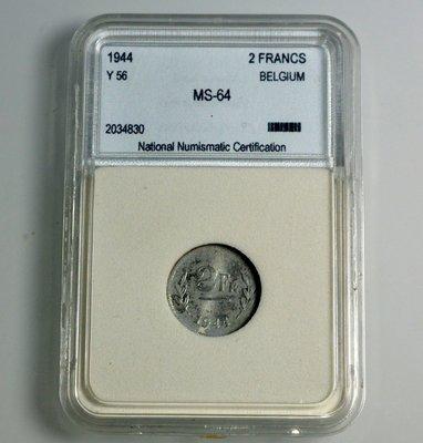 評級幣 比利時 BELGIUM 194...