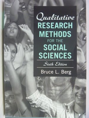 Qualitative Research Methods for the Social Science〖大學社科〗AHS