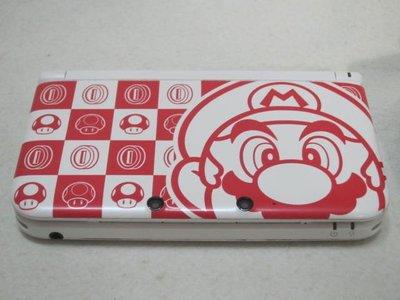 【KENTIM 玩具城】中古二手3DS LL瑪莉歐MARIO NTT限定版(限量100台)日規原裝主機(無盒書)