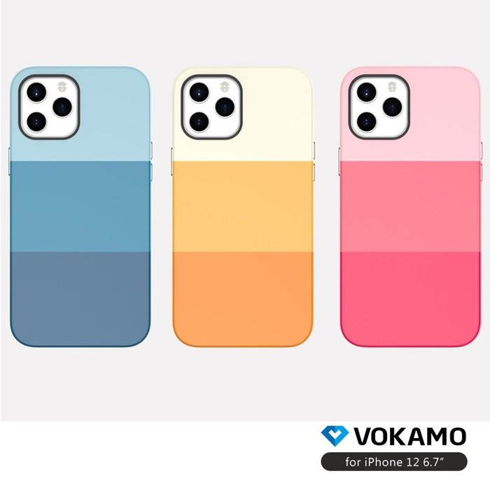 VOKAMO iPhone 12 mini / Pro / Pro Max 幻彩手機保護殼 喵之隅