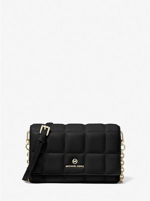MICHAEL KORS Small Quilted Leather Smartphone Crossbody Bag