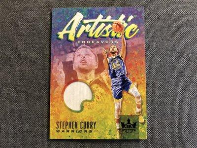 Stephen Curry 球衣卡 限量179張 油畫卡 超好看 勇士 2019-20 court kings