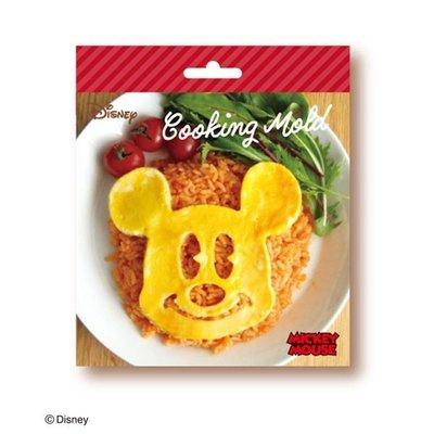 米奇 Mickey 鬆餅頭型壓模-紅,鬆餅模/厚鬆餅模/餅乾壓模/鬆餅模具,X射線【C142249】