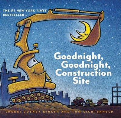 *小貝比的家*GOODNIGHT GOODNIGHT CONSTRUCTION SITE/硬頁書/3~6歲/交通工具