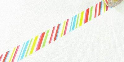 紙膠帶 Mark's maste MULTI系列 彩色條紋 分裝100cm