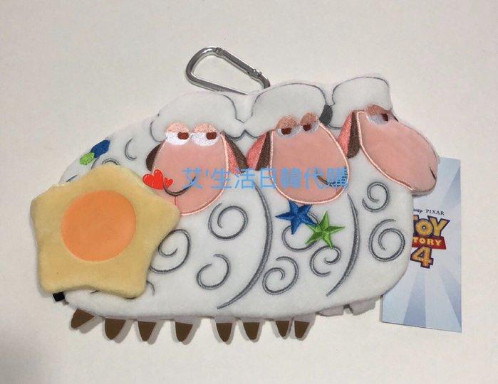 代購現貨  日本玩具總動員4 三頭羊掛包