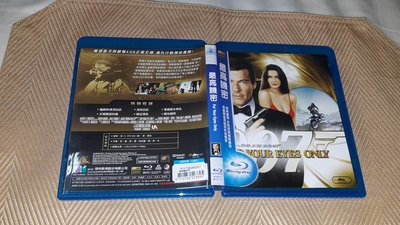 【李歐的二手洋片】幾乎全新得利版 007電影 最高機密 藍光 BD 下標就賣