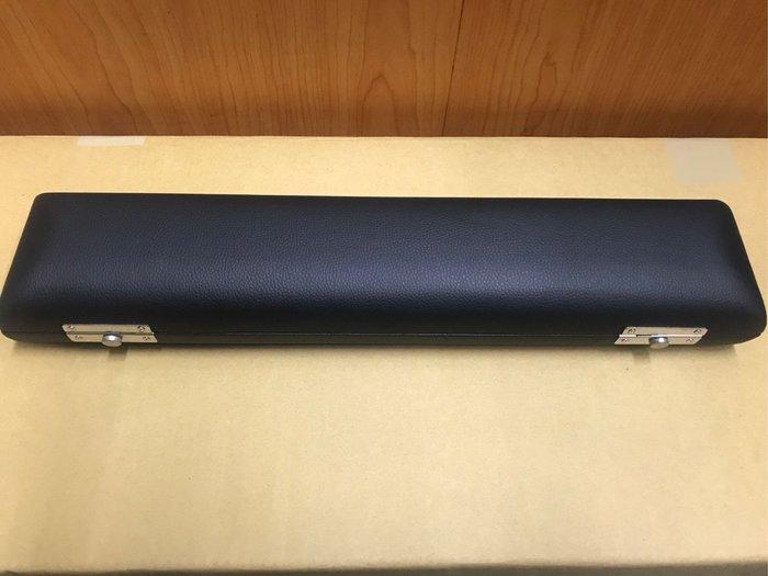 筌曜樂器(K1043) 全新 長笛 硬盒 方盒 黑色 硬盒( 降B管 加長型可用) 超低價