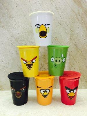 全新 7-11點數 Angry Birds 憤怒鳥雙層陶瓷杯 馬克杯 隨行杯子 彰化自取