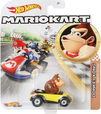 風火輪 Hot Wheels 瑪莉歐賽車 MarioKart 合金車 Mario Kart - Donkey Kong