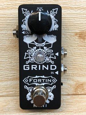 【又昇樂器 . 音響】美國 手工品牌 FORTIN Mini GRIND 音箱 破音 專用 Boost 可控制音箱
