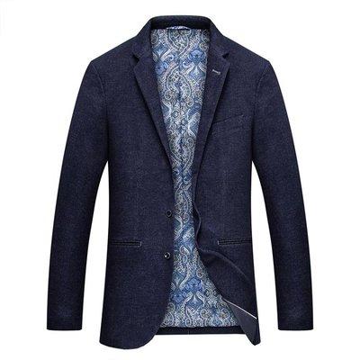 店長嚴選大碼 秋冬新品男士西裝商務休閒西服外套經典純色男裝單西