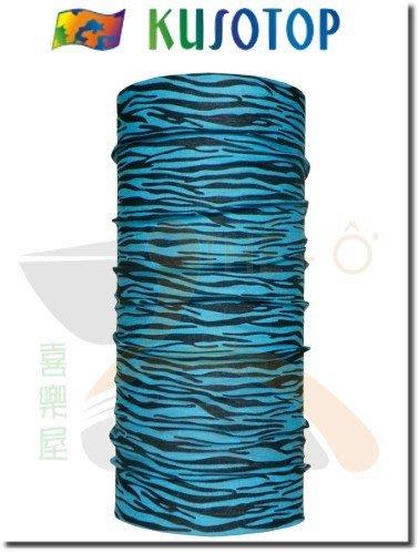 KUSOTOP 原創系列 運動魔術頭巾 吸濕快乾 抗UV 柔軟 透氣 4 台灣製造 喜樂屋戶外休閒
