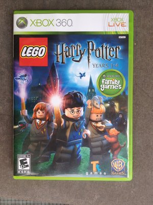 Lego Harry Potter: Years 1–4《哈利波特》xbox360 xbox 360 game