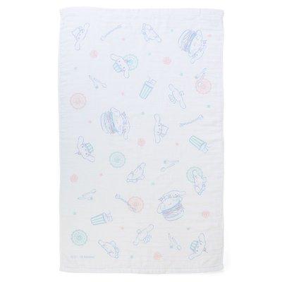 Sanrio 日本正版 Cinnamoroll 玉桂狗 Happy Days系列 毛巾毯 毛巾氈 冷氣被