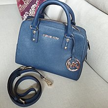 Michael kors 專櫃正品 深藍 手提 側背 包