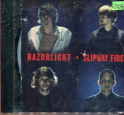*還有唱片四館*RAZORLIGHT / SLIPWAY FIRES 二手 D0499(封面底破)