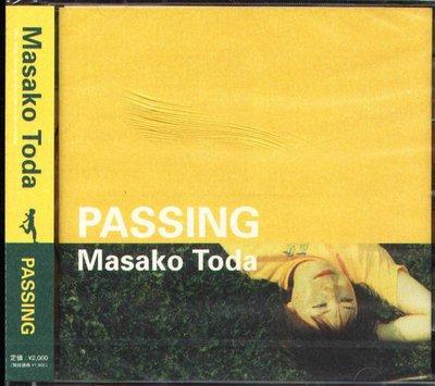 K - 戶田和雅子 - PASSING  Masako Toda - 日版 - NEW