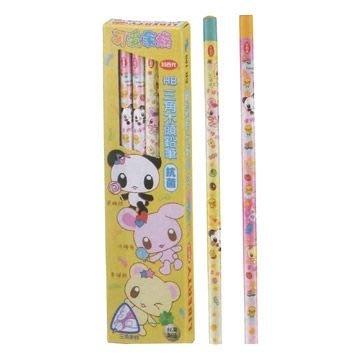 三角筆 利百代LIBERTY 可愛家族三角塗頭鉛筆 CB-129-HB,每盒:12支,特價:39元【有現貨 快速出貨】