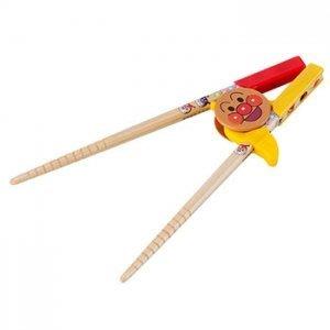。小森親子好物。日本麵包超人 木製兒童學習筷 (現貨)【KF15120059】