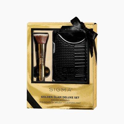 Sigma GOLDEN GLAM DELUXE SET 閃亮金刷具組 原廠官方授權經銷商 Brush Maniac