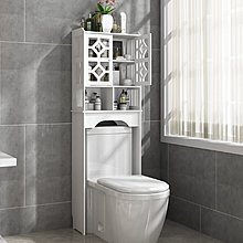 『i-Home』衛生間置物架免打孔洗手間櫃子馬桶廁所落地式浴室洗澡儲物收納架