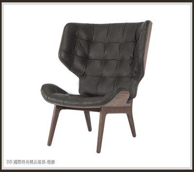 DD 國際時尚精品傢俱-燈飾NORR11 MAMMOTH FLUFFY(復刻版)現品特價$42000牛皮 單人椅