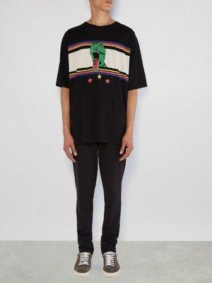 【ChicPop】SAINT LAURENT 超賣恐龍 短袖T shirt 17春夏新款