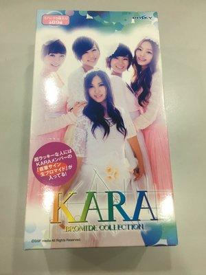 日本 韓國團體 藝人 KARA Bromide collection BOX 套卡 10包裝1包5張