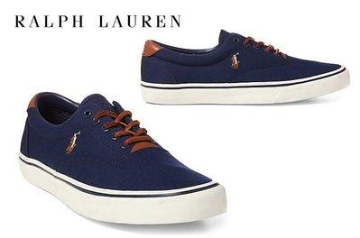 Polo Ralph Lauren 小馬 懶人鞋 帆布鞋 成年款 藍色 美國姐妹屋