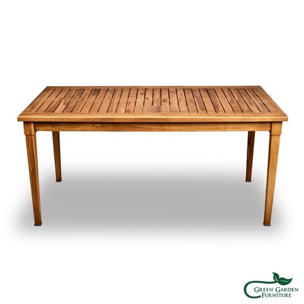 范莉雅 柚木150長桌【大綠地家具】100%印尼柚木實木/柚木餐桌/實木餐桌