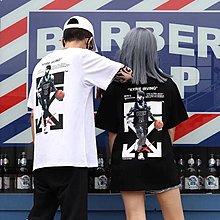 19ss新款OW KYRIE IRVING聯名印花款短袖T恤黑色 白色 XS S M L XL包郵順豐站