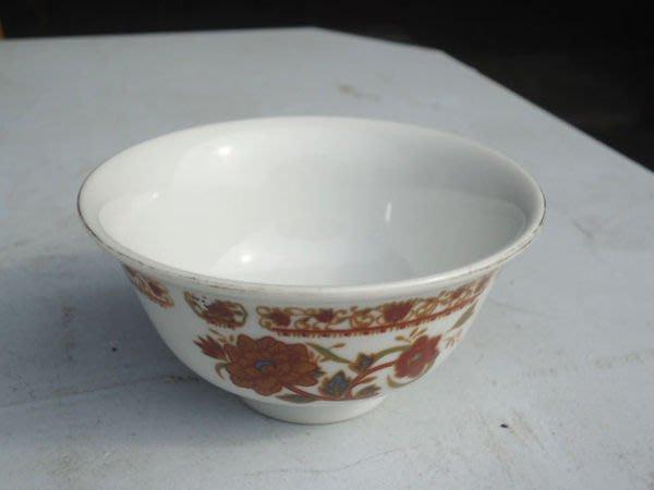 大台南冠均二手貨民安店-- 早期大同花卉 古早碗 小湯碗 復古瓷碗 小碗 點心碗 餐碗 量多