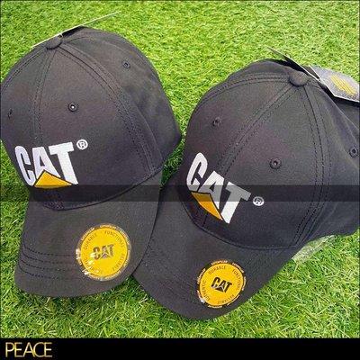 【PEACE】全新現貨 真品 Caterpillar_Cat Trademark Cap 黑色 老帽 美國 工裝 老牌
