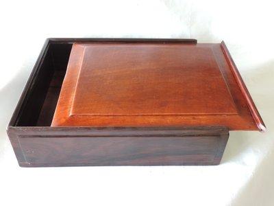 丁香之家--早期酸枝木長方盒{出清價}最後一件