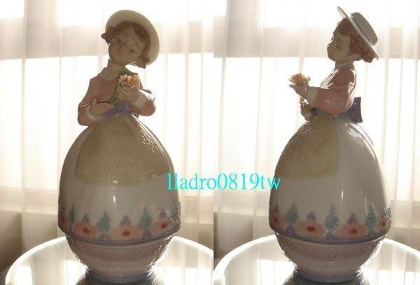 (全新品)LLADRO 愛的寶藏(1998年~珠寶盒)西班牙雅緻瓷偶Lladró/另居禮哥本哈根Messien