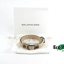[Eco Ring HK]*Balenciaga Leather Bangle Beige 236342.9640*RankAB-207002972-