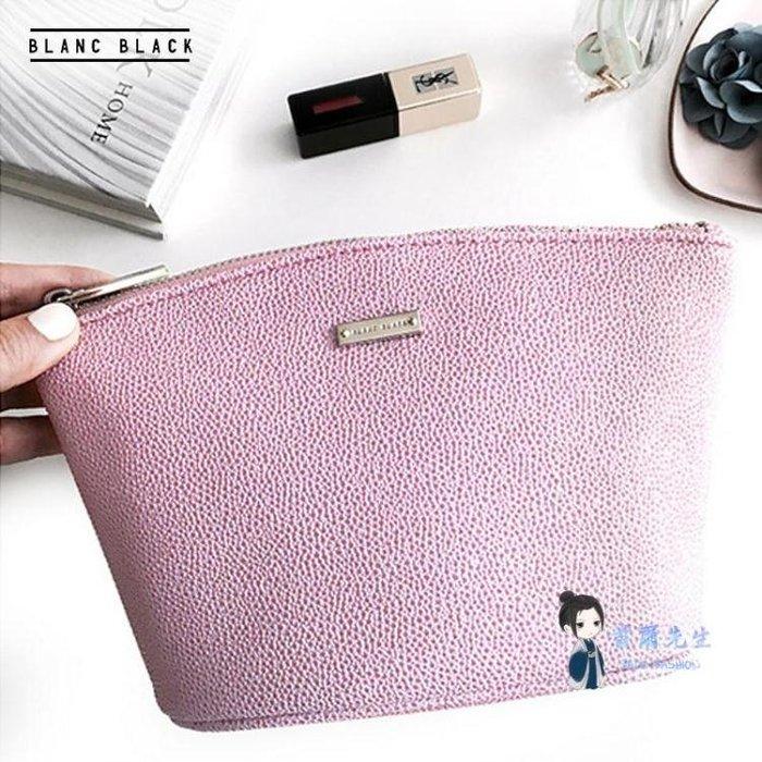 可開發票 化妝包 韓國手拿粉色化妝包女小號便攜大容量化妝品收納包包 1色 【飛揚時尚】