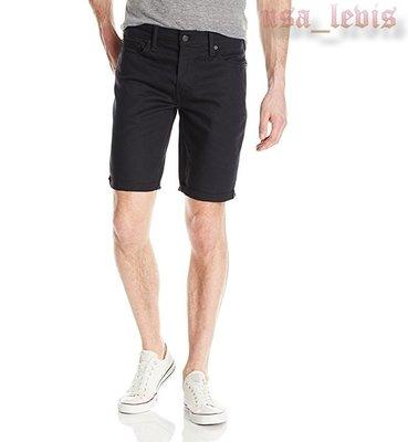 【彈性29-44腰優惠】美國LEVI S 511 SLIM CUT-OFF SHORTS Smokey 碳黑窄管牛仔短褲