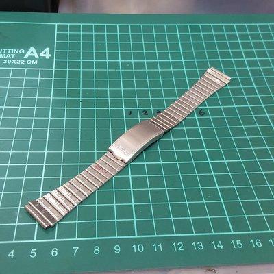 早期 亮面 18mm 不鏽鋼 錶帶 老錶 最愛 非 機械錶 港勞 手上鏈 EAT ROLEX SEIKO TELUX MK IWC CK A08