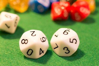 十面骰子 10面骰子 數子骰子 多面骰子 Dice 桌遊 玩具 紙牌 教學 塔羅牌 星域奇航 star realms
