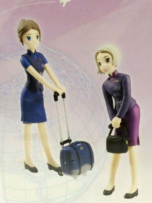 華航空姐公仔 行李組