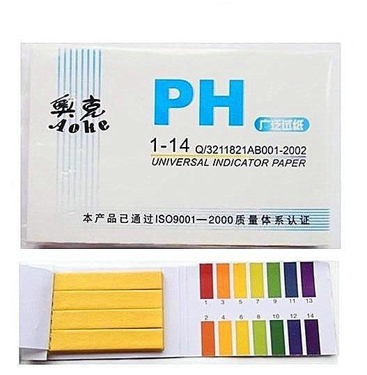 *水蘋果* B-003 ph試紙 化學實驗耗材 ph廣泛試紙 ph值測試 手工皂或酸鹼值測試 80張一包