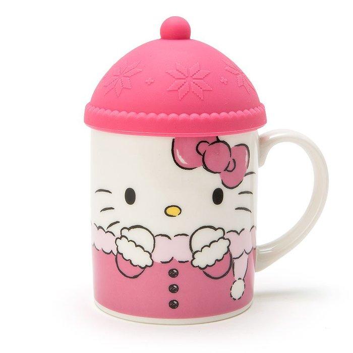41+現貨不必等  Y拍最低價 日本限定  正版 Hello Kitty  帽型杯蓋 馬克杯 小日尼三