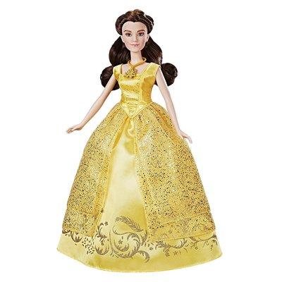 預購 美國帶回 Disney Princess 迪士尼 美女與野獸真人版貝兒公主音樂芭比娃娃  女童最愛 生日禮