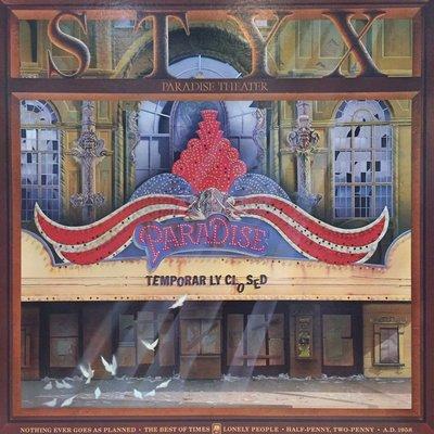§小宋唱片§ 美版/ Styx – Paradise Theatre/二手西洋黑膠